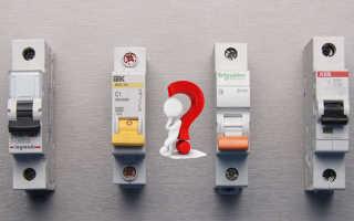 5 правил как выбрать автоматический выключатель — не по току и мощности.