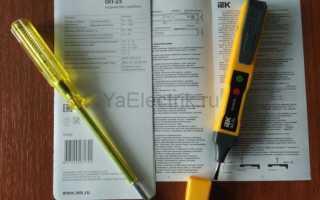 Как определить фазу и ноль индикаторной отверткой