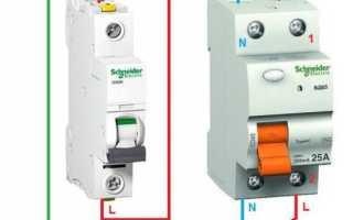 Дифференциальный автомат: электромеханические, электронные, технические характеристики