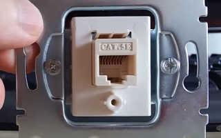Как правильно подключить интернет кабель к розетке. Схема подключения для RJ 45.