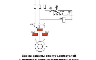 Реле максимального тока (принцип действия, установка, типы)