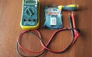 Как заменить батарейку в мультиметре своими руками