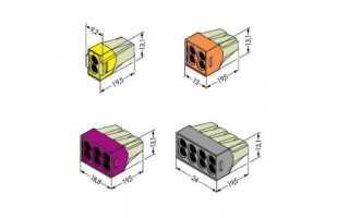Клемники (Ваго) WAGGO: обзор моделей, как выбрать (пошаговая инструкция)