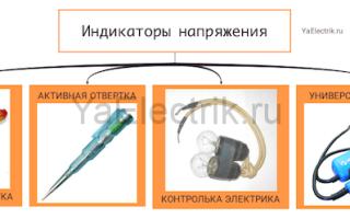 Индикатор напряжения: разновидности устройств и правила их использования