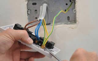 Сечение провода для розеток