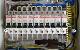Подключение автоматических выключателей (схема, однополюсных, двухполюсных, трехполюсных)