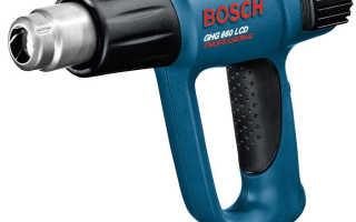 Технический фен Bosch ghg 660 — обзор, характеристики, применение, причины выхода из строя.