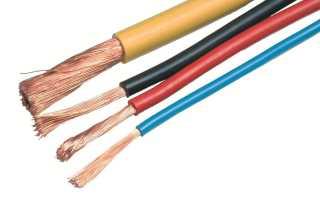 Электрический силовой провод. Виды и назначение