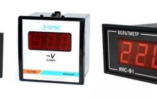 Как правильно пользоваться вольтметром