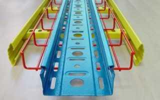Кабельные лотки для производственных помещений и торговых залов