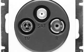 Подключение ТВ кабеля к розетке Legrand, Schneider. Схемы и виды розеток.