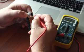 Как проверить лампу мультиметром