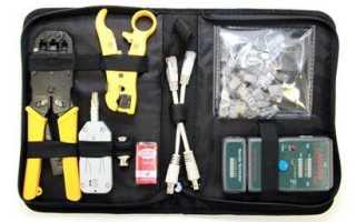 Как обжать сетевой кабель: инструменты, технология, без инструмента