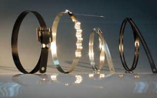 Стяжки кабельные металлические. Все виды, применение, характеристики. Инструмент для затяжки.