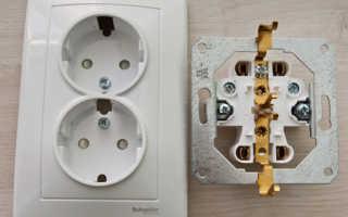 Как подключить двойную розетку — выбор, устройство, схема подключения