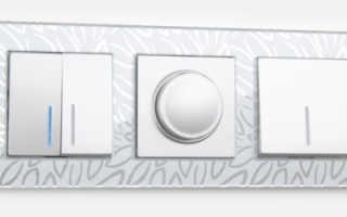 Схема подключения выключателя с подсветкой (легранд)