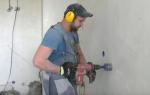 Установка розетки в бетонную стену — пошаговая инструкция