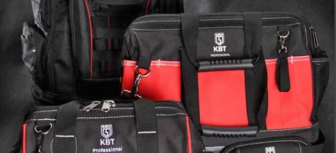 Обзор 4-х сумок монтажника КВТ — С-01, С-03, С-04, С-05. Недостатки, преимущества и проблемы выбора.
