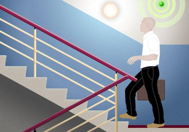 датчик движения на лестнице