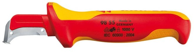 Нож с изоляцией до 1000 вольт