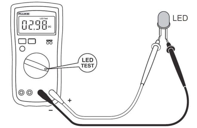 Проверка LED источников освещения