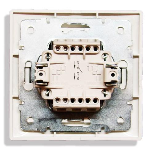 контакты одноклавишного выключателя