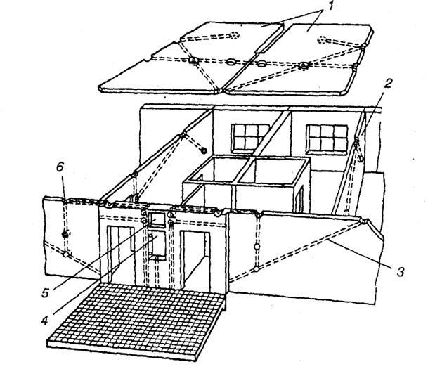 скрытая электропроводка в железобетонных панелях