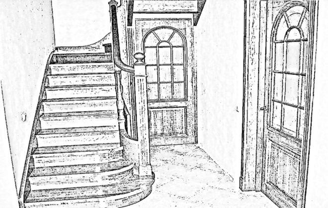 Проходной выключатель на лестнице