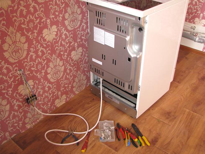 кабель для подключения электроплиты