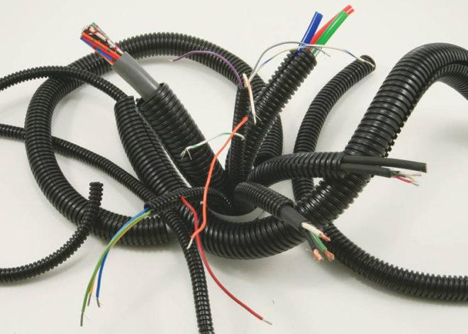 кабели для электропроводки