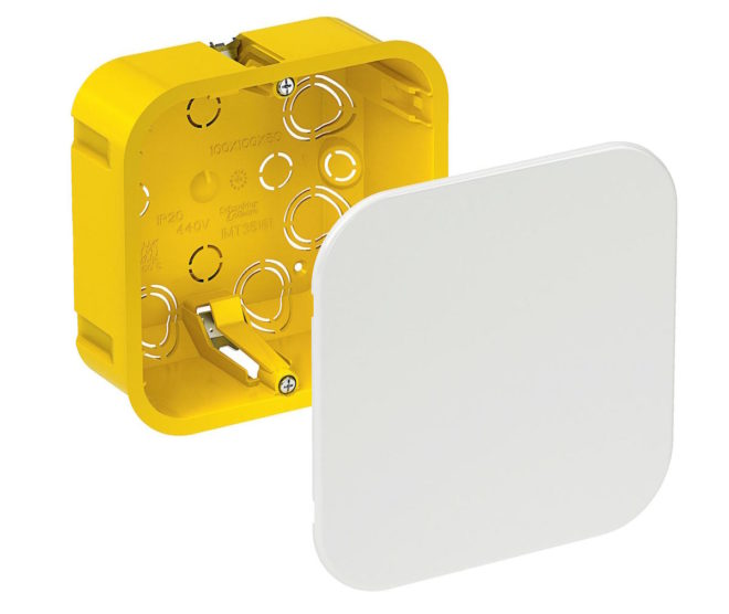 распределительная коробка для скрытой проводки