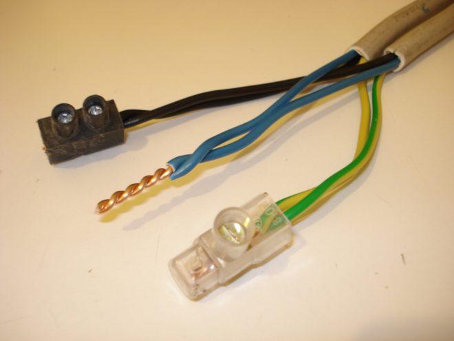 различные способы соединения проводов
