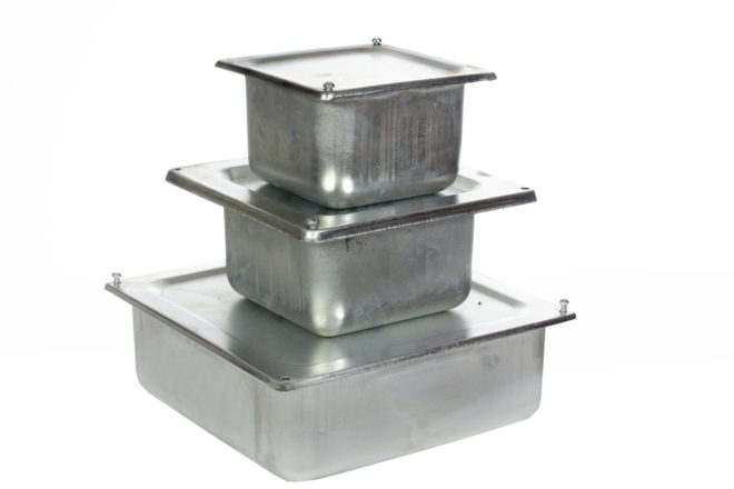 металлические распредкоробки