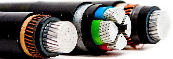 виды трехфазных и одно фазных кабелей с изоляцией из сшитого полиэтилена