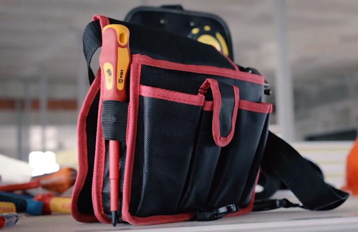 маленькая сумка электрика С-10