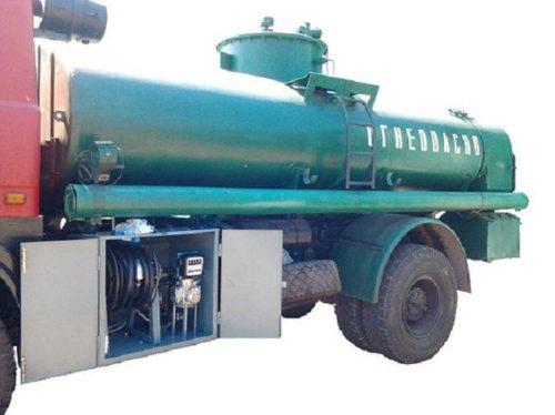 Пример установки герконов в РЩ мобильной перекачивающей станции горючего