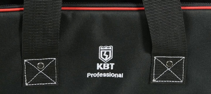 прошитые и заклепанные боковые ручки сумки КВТ С-04