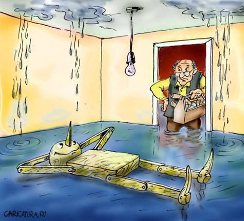 Датчик контроля протечки воды – защита имущества