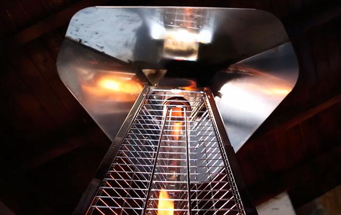 козырек для отражения тепла
