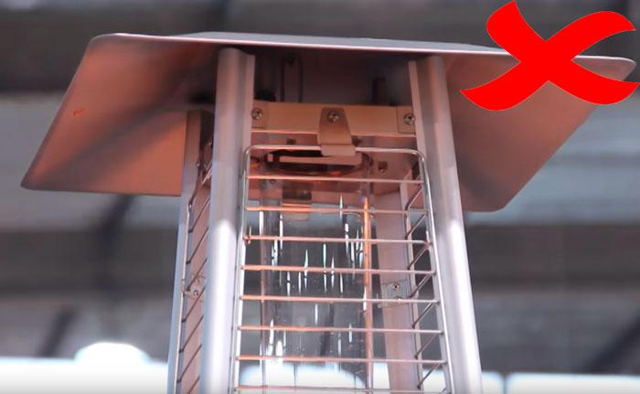 газовый обогреватель без дожигателя
