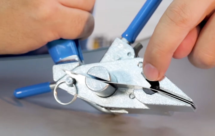 режущий нож машинки ИНТ-20 мини