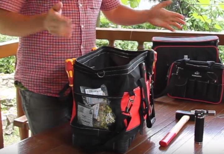 где хранить расходку в сумке КВТ С-01