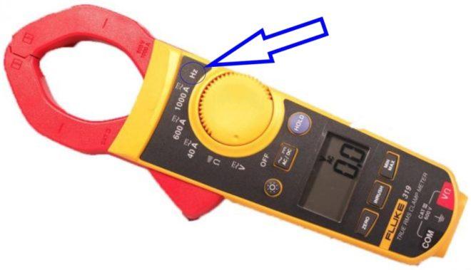 Эти клещи могут измерять частоту