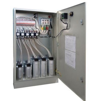 Устройство для экономии электроэнергии. Промышленная конденсаторная установка