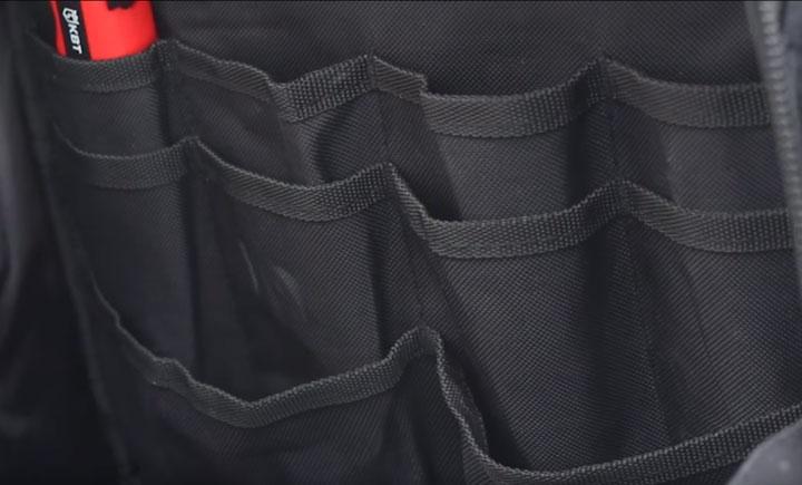 внутренние карманы рюкзака КВТ С-07
