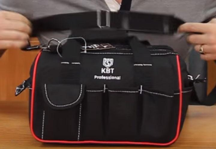внешние открытые карманы сумки КВТ С-03