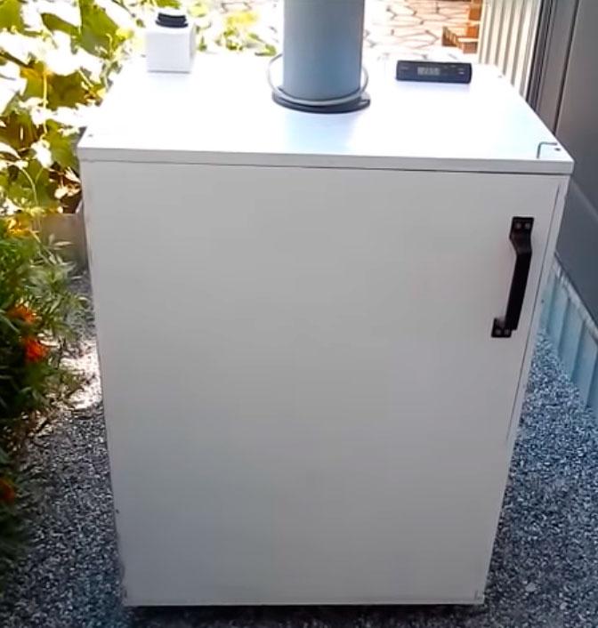 сборка шкафчика для самодельной сушилки