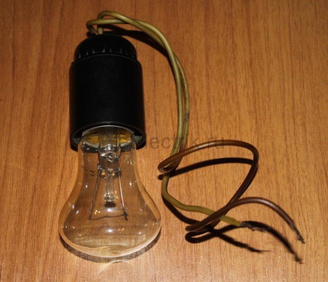 лампа индикатор напряжения