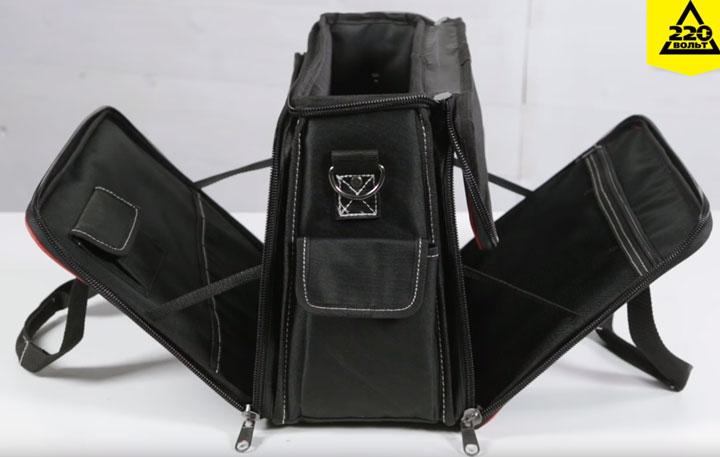 сумка КВТ С-04 в раскрытом виде