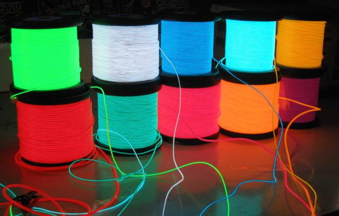 Электролюминесцентные провода